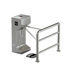304 Stainless Steel Vertical Tripod Turnstile For Intelligent Access Control System
