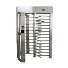 90 Degree Single Channel Automatic RFID Access Control Full Height Turnstile