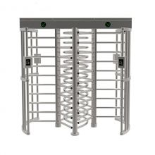 Dual Passage Access Control System Full Height Turnstile