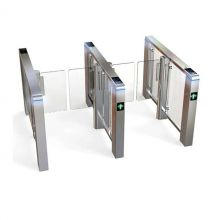 Biometric RFID Controlled Fast Speed Pedestrian Turnstiles Gate for Office Tower