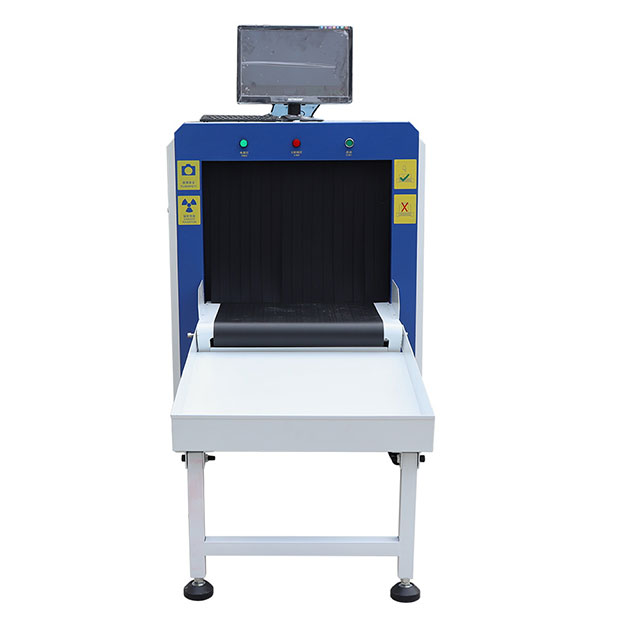 Dual Views X-ray Luggage Scanner Tunnel Size 6550