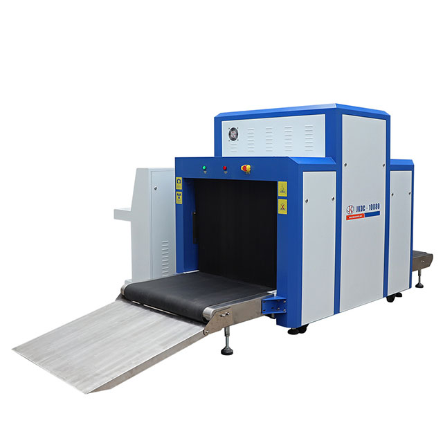 Dual Views X-ray Baggage Scanner Tunnel Size 10080