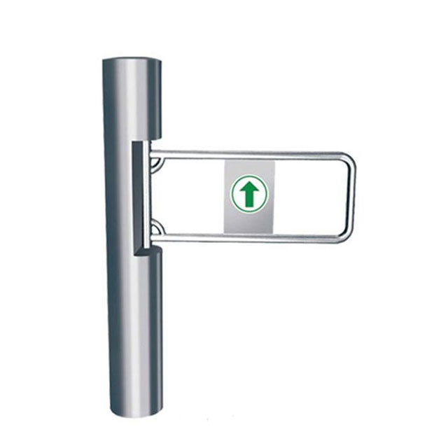 Access Control Swing Turnstile Gate For Supermarket