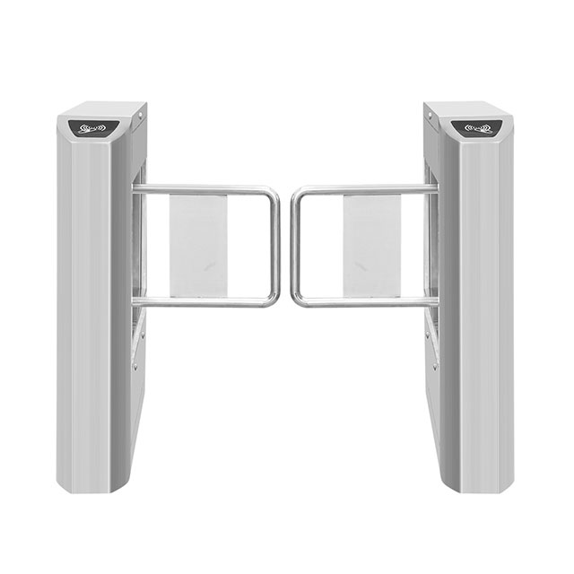 High Quality RFID Card Reader Security Swing Turnstile Gate
