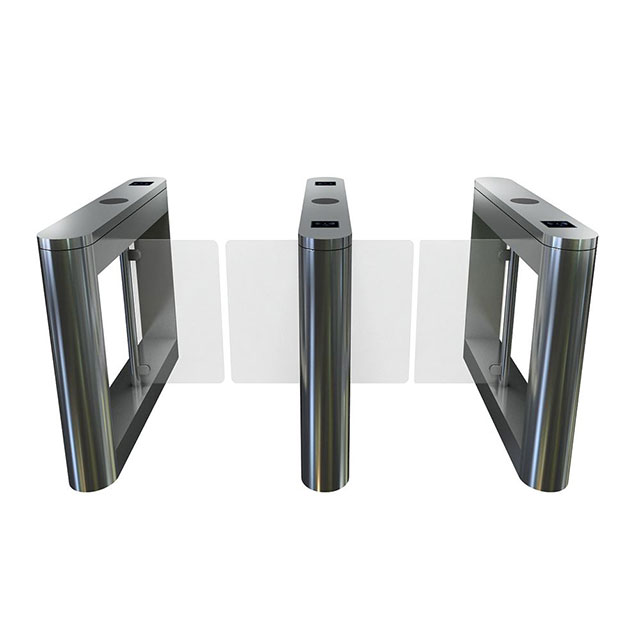 Automatic RFID Card Reader Access Control Swing Barrier Turnstile
