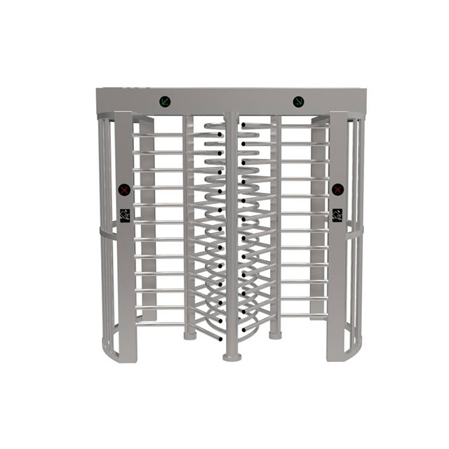 Double Channel Biometric Access Control Full Height Turnstile