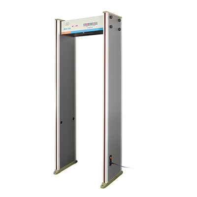 Categories, Setup And Operation Of Walk Through Metal Detector