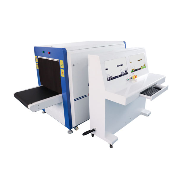 Dual Views X-ray Luggage Scanner Tunnel Size 6550D